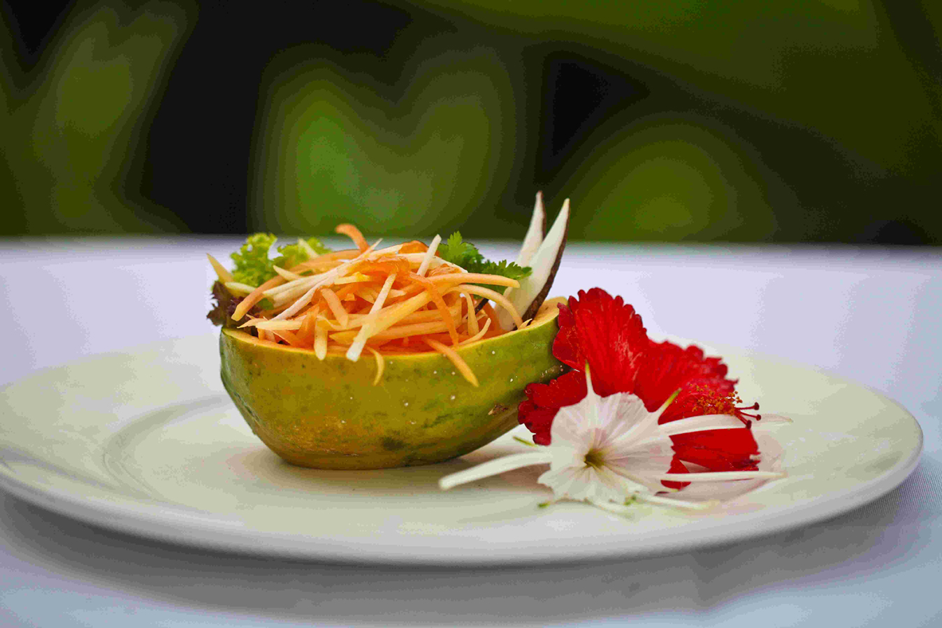 Green Papaya Coconut Salad