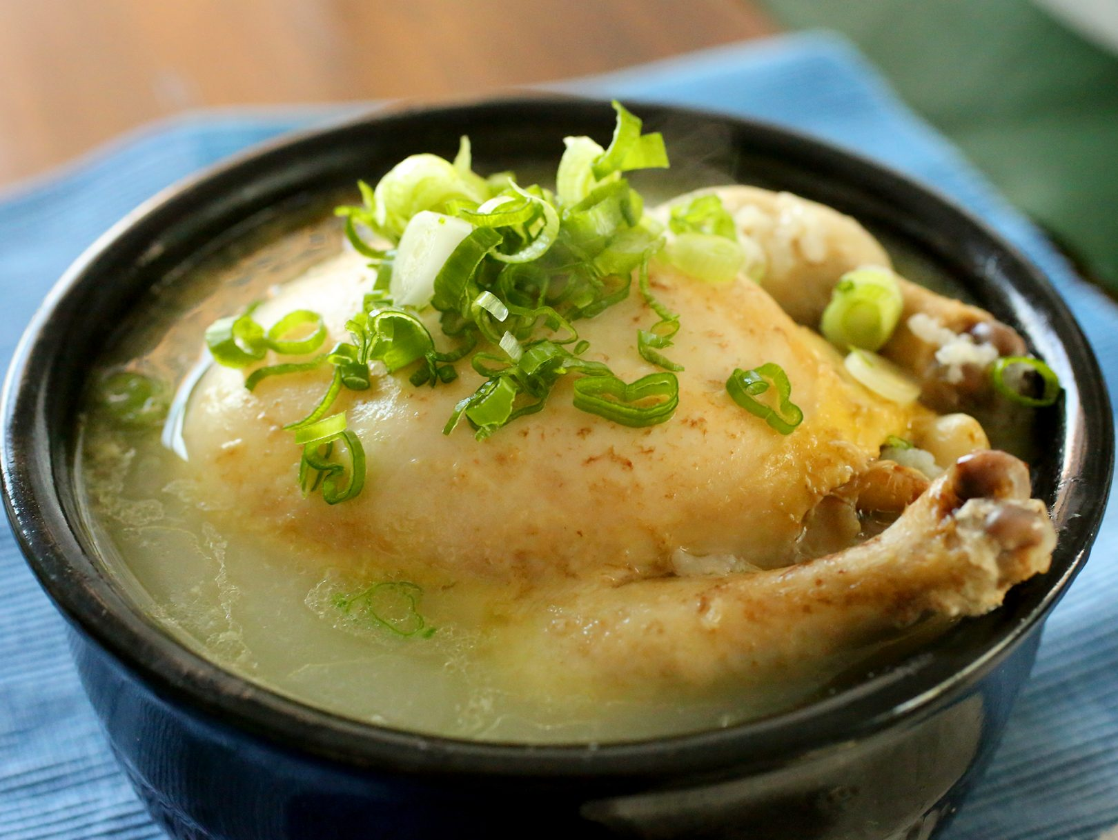 Cyclone Chicken & Ginger Broth